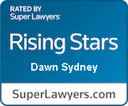 Rated by Super Lawyers - Rising Stars Dawn Sydney - SuperLawyers.com